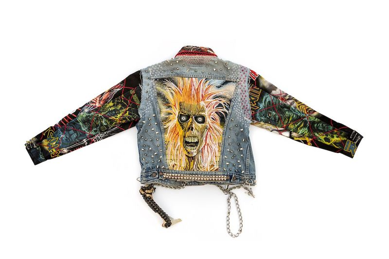 Punk-Graphic Layering Denim Jackets