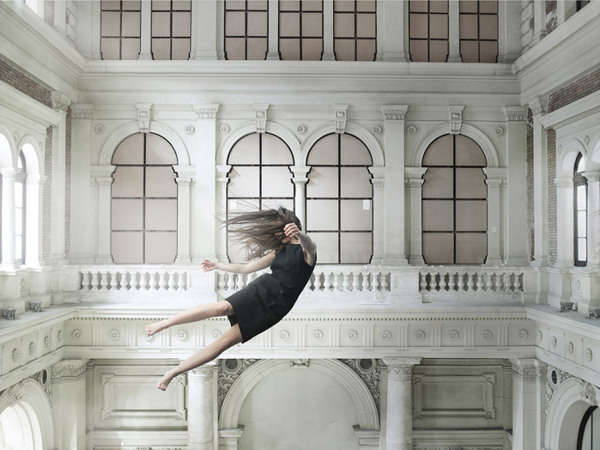 Ethereal Floating Female Photography