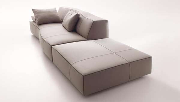 Subtly Curved Couches
