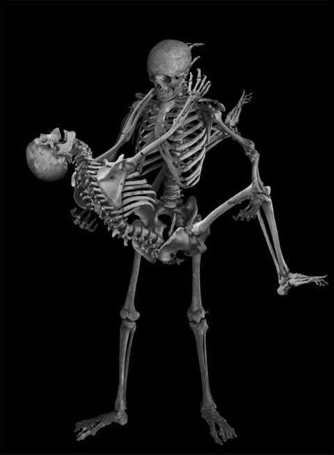 Naughty Skeleton Photography