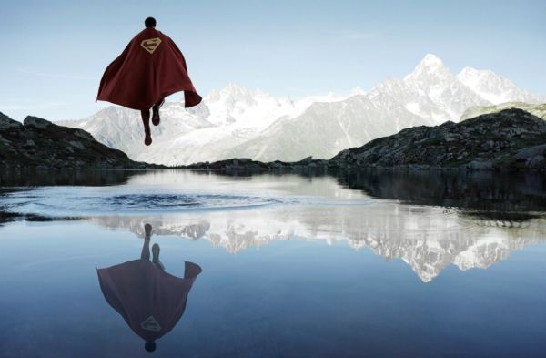 Scenic Superhero Portraits
