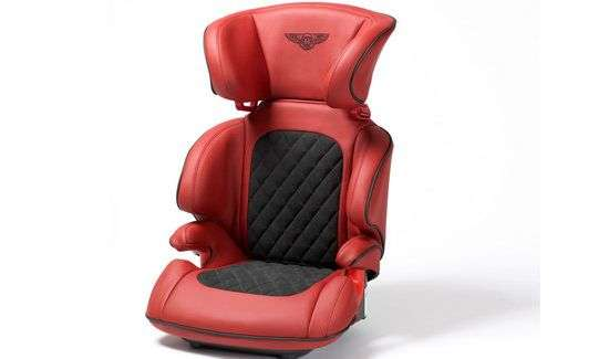 Supercar Baby Seats The Personalized Bentley Car Seat Features
