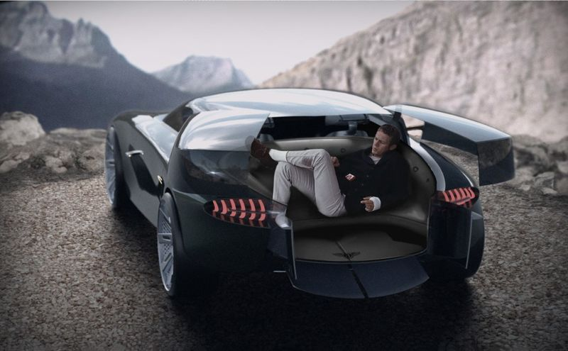 Panoramic Seating Sports Cars