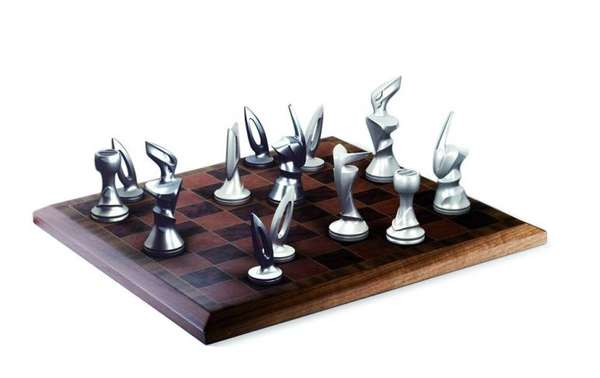 Contemporary Chess Set controversial contemporary art : jake and chapman chess set