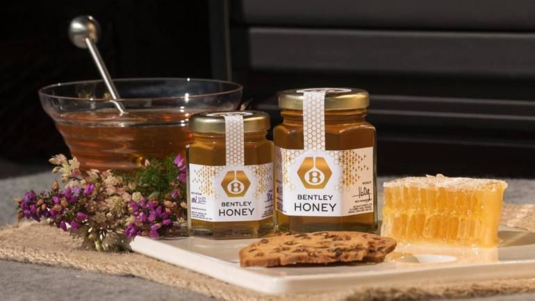 Automotive Brand Honey Jars