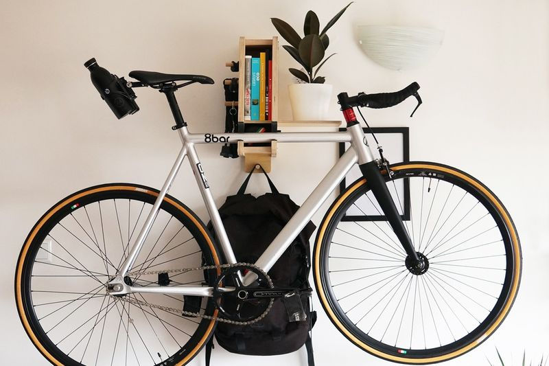 Space-Saving Interior Bike Racks