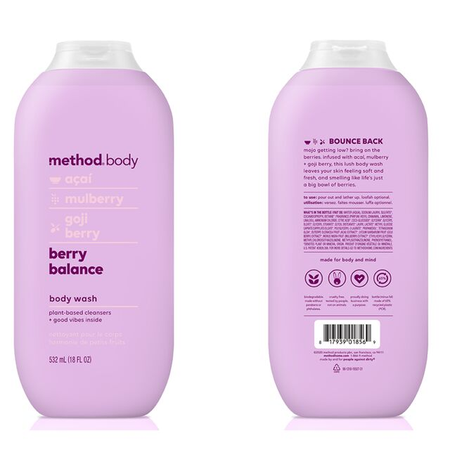 Refreshing Berry Body Washes
