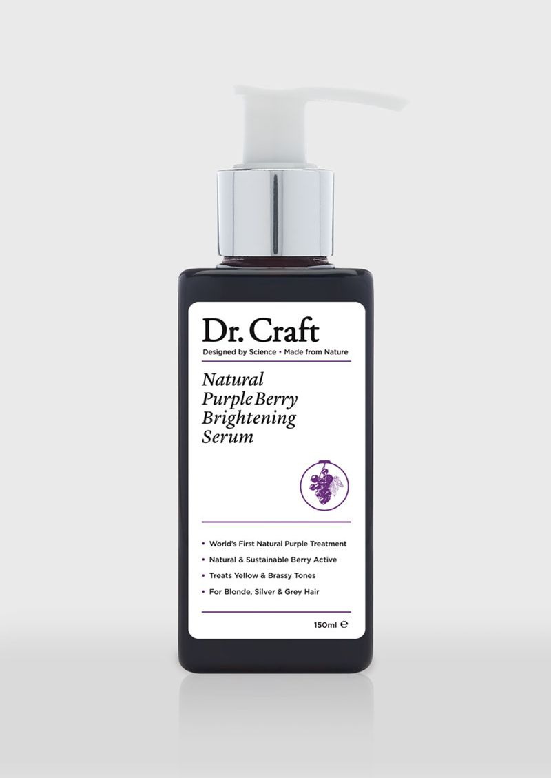 Naturally Purple Hair Serums - Dr. Craft's Berry Brightening Serum Reuses Beverage Industry Waste (TrendHunter.com)