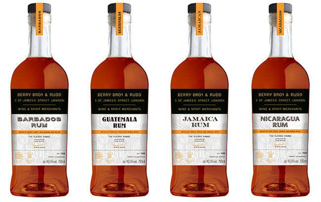 Internationally Sourced Rum Ranges