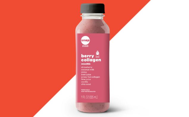 Berry-Infused Collagen Smoothies