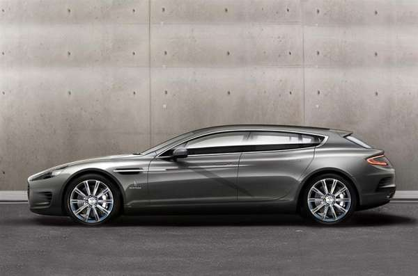 luxury hybrid family cars : bertone aston martin