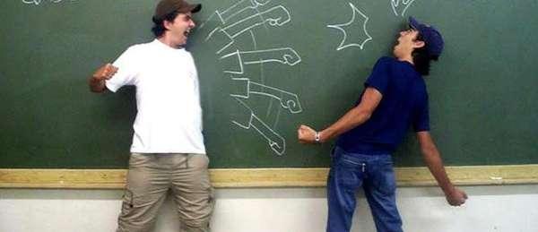 Blackboard Combats