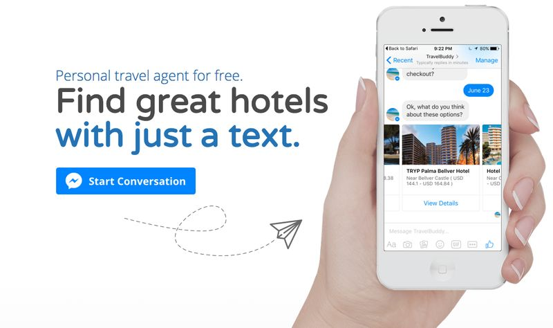 Hotel-Finding Text Services