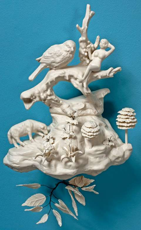 Storytelling Porcelain Sculptures