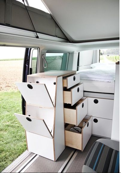 Slide-Out Camper Modules
