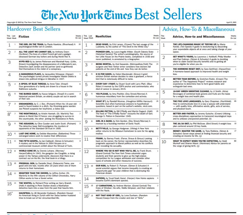Better and Faster: New York Times Bestseller
