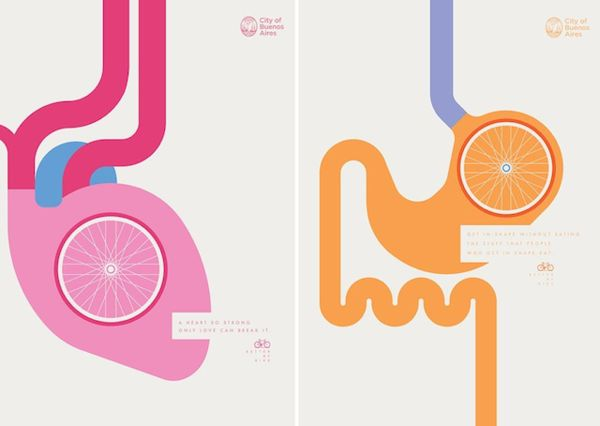 Biological Biking Posters