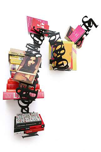 Jumbled Word Shelves