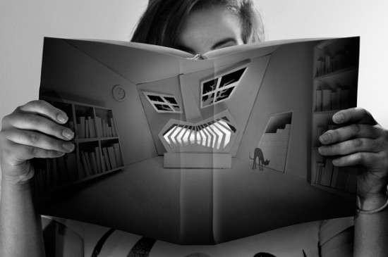 Expressive Book Portraits