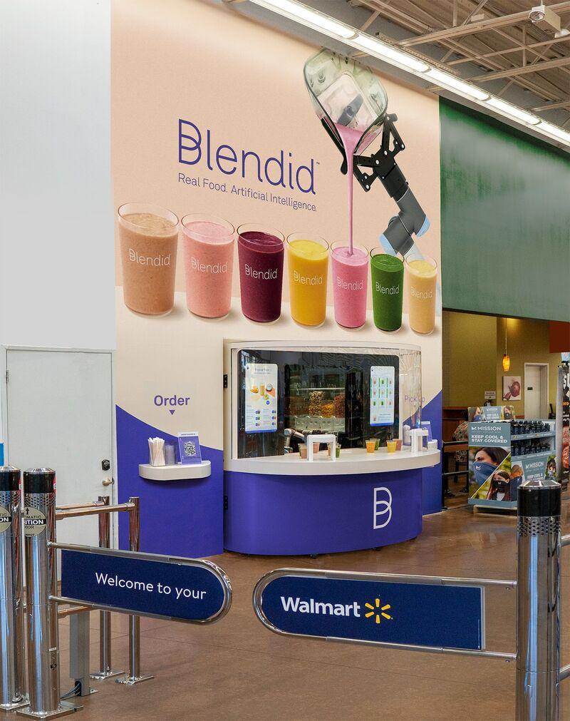 AI Blended Beverage Kiosks