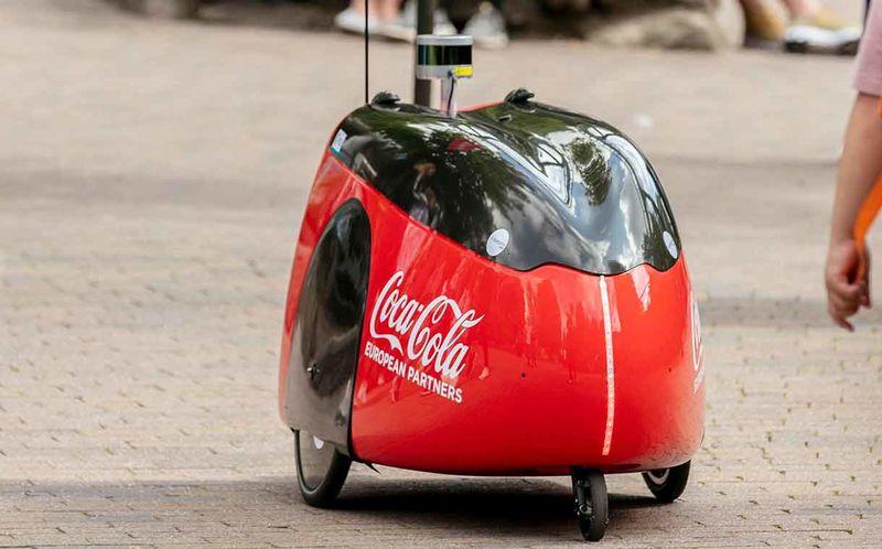 Drink-Delivering Theme Park Robots
