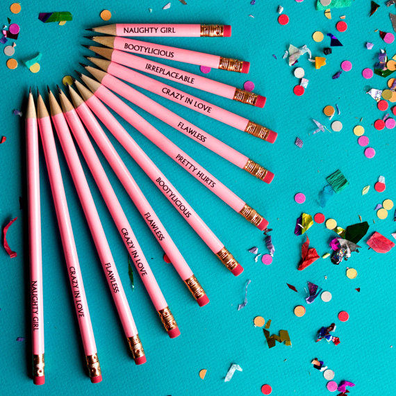Lyrical Popstar Pencils