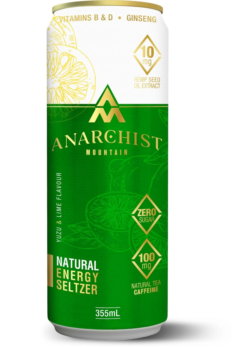 Natural Hemp Energy Drinks
