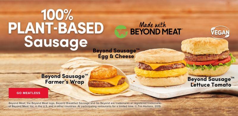 Plant-Based Breakfast Sandwiches
