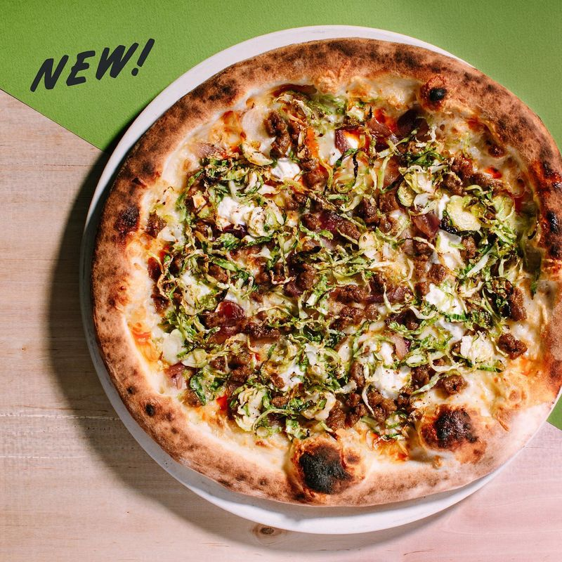 Plant-Based Sausage Pizzas