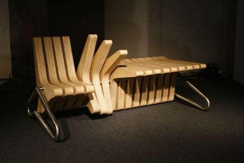 Adjustable Wooden Furniture