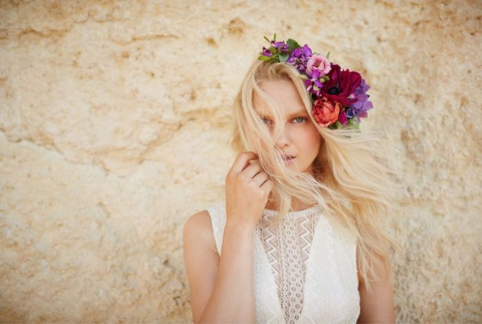 Beachy Bridal Lookbooks