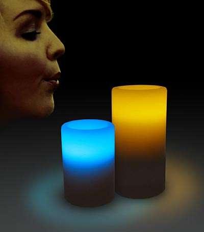 Candles Go Hi-Tech