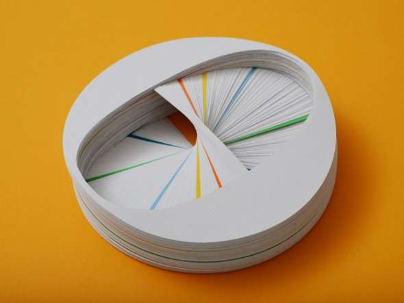 Spiraling Paper Art
