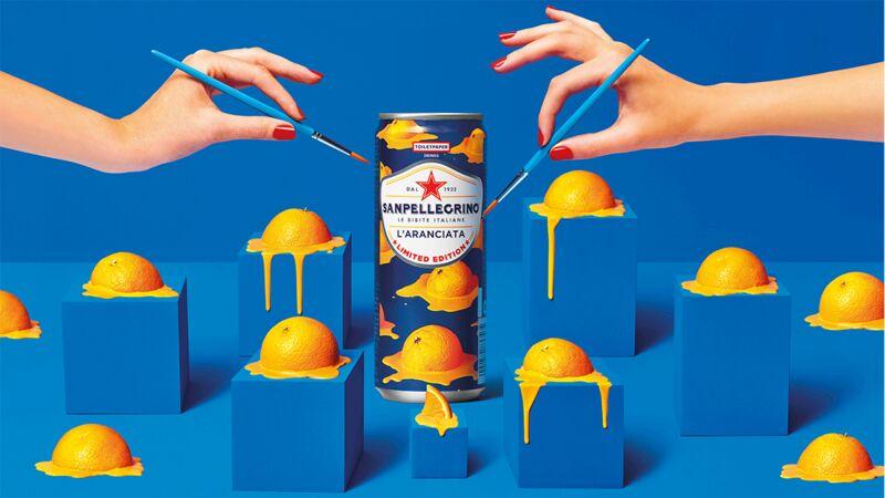 Art-Covered Sparkling Drinks