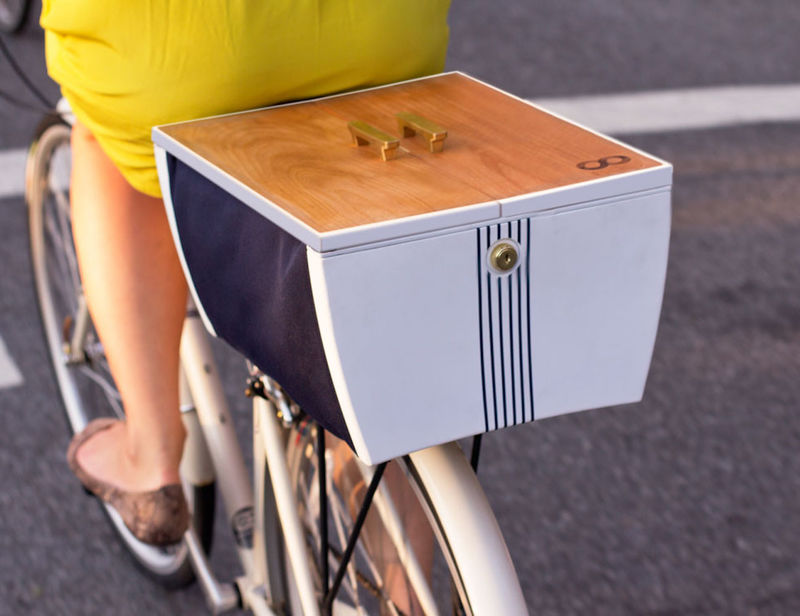 Cyclist Storage Bins