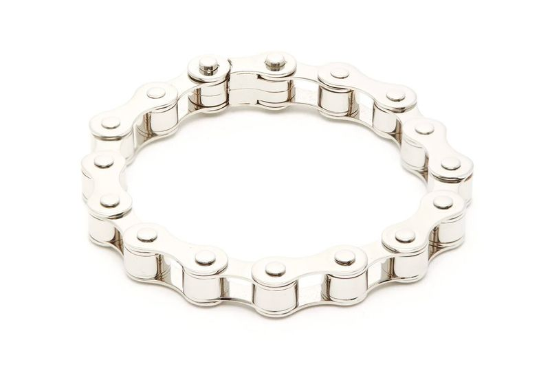 Bicycle Chain-Resembling Bracelets