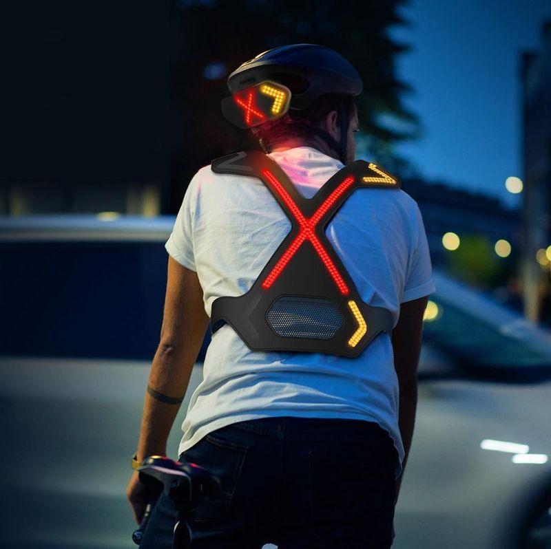 Illuminative Bicycle Harnesses
