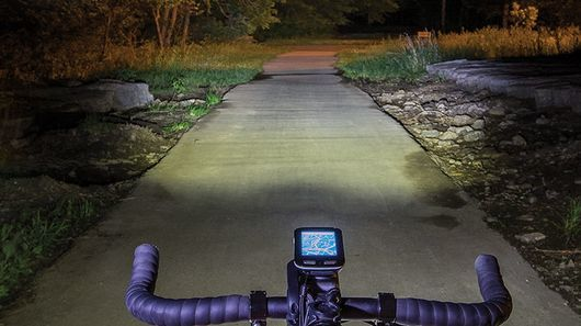 Speed-Responding Bike Headlights