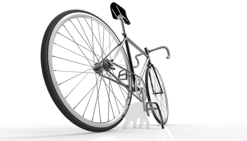 Pedal-Embedded Bicycle Kickstands