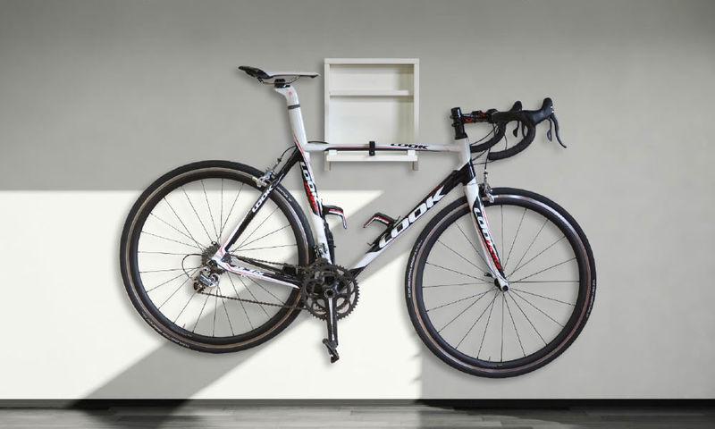 Shelved Bicycle Mounts