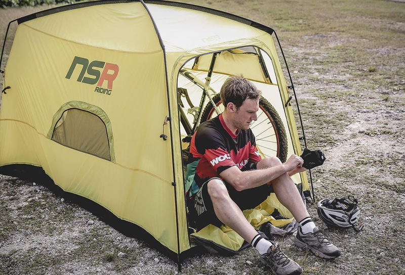 Bike-Accommodating Tents