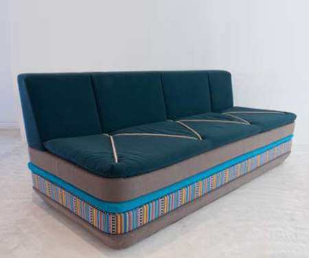 Nomadic Stacked Sofas