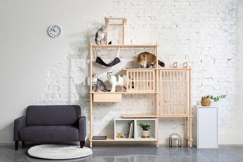 Modular Feline Furniture Sets