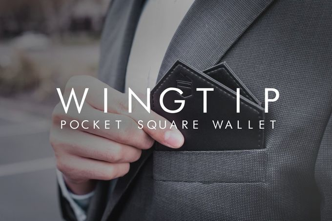 Pocket Square Wallets