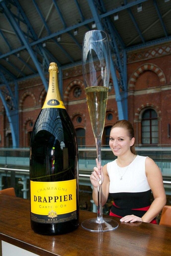 шампанского фото большая бутылка