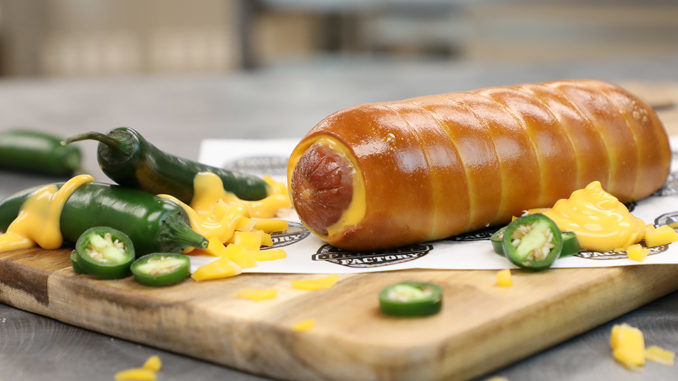 Pretzel-Wrapped Hot Dogs