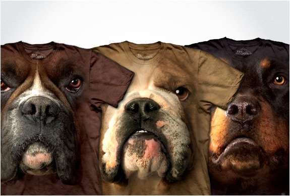 Hyper-Realistic Dog Tees