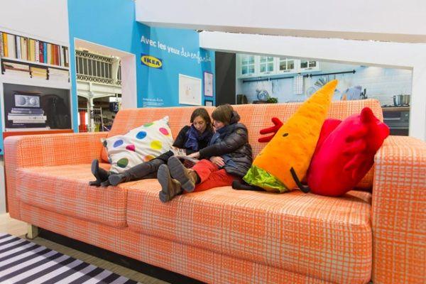 Gigantic Furniture Installations