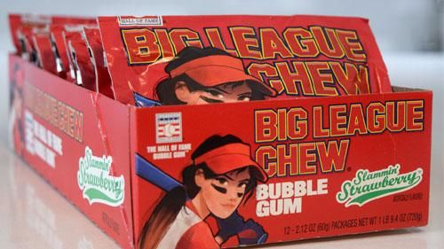 Fruity Softball Chewing Gums