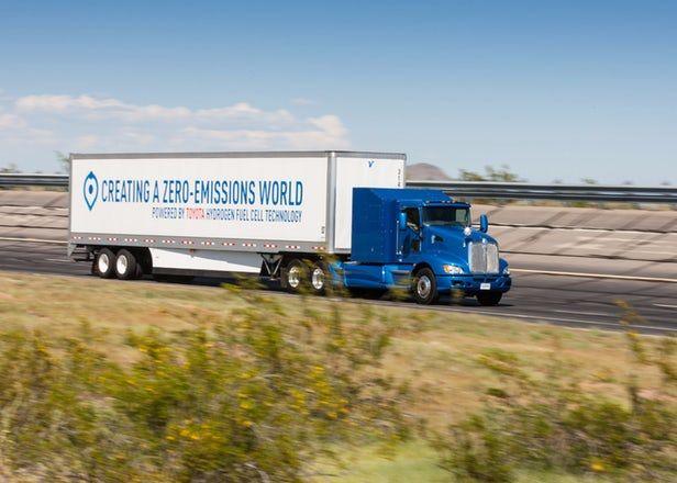 Zero-Emissions Hydrogen Trucks